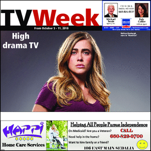 Read the TV WEEK from the Sedalia Democrat.